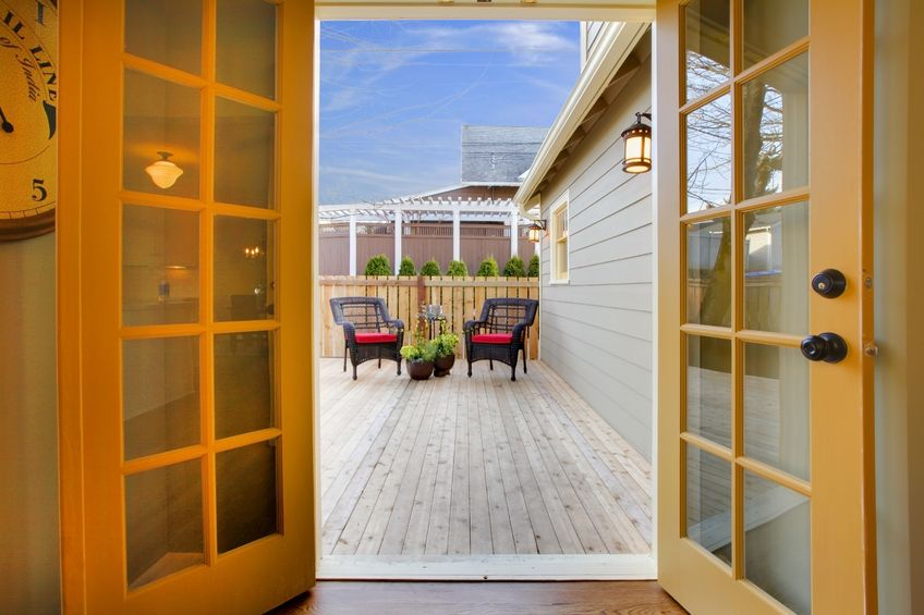 Retractable Screen Doors for San Diego Homes with French Patio Doors
