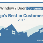 "Window & Door Consumer Awards Automatic Door Specialists the ""2017 Best in Customer Service"" Award for San Diego Garage Door Companies"