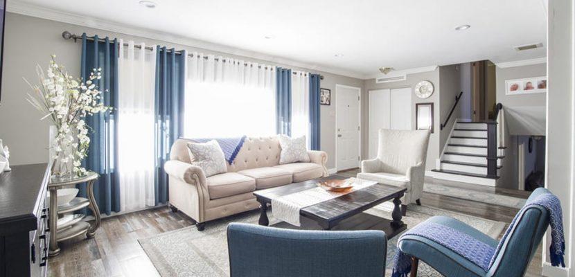 san diego interior design rental property