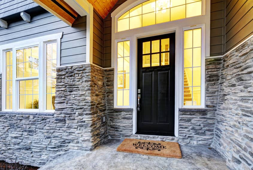 I Have a Dark Gray House in San Diego and Want to Paint My White Front Door Black…Any Suggestions?