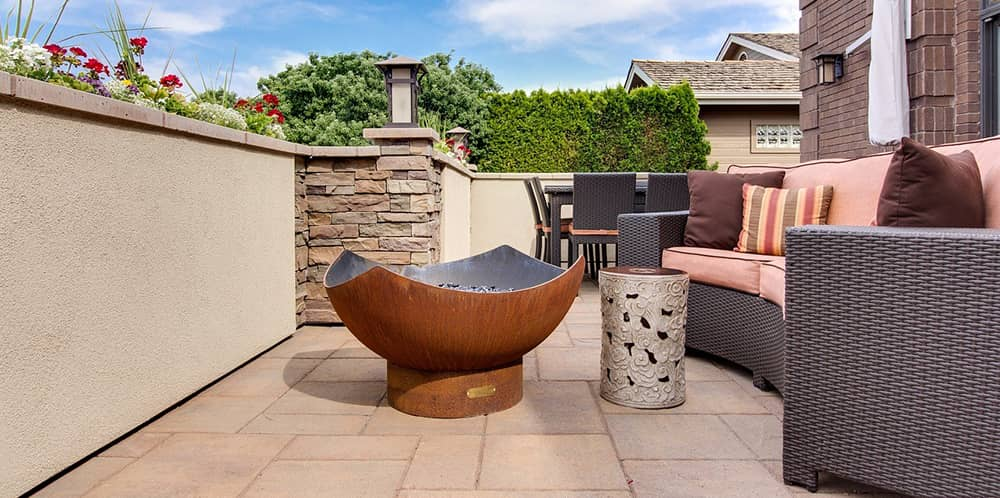 san diego fire pit patio design ideas